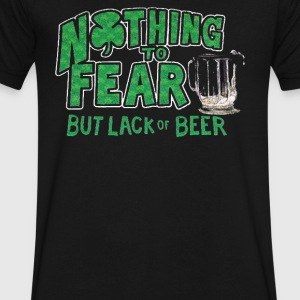 Nothing to Fear Lack of Beer - Men's V-Neck T-Shirt by Canvas
