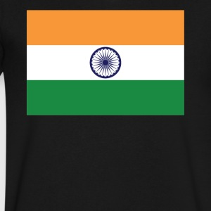 Flag of India Cool Indian Flag - Men's V-Neck T-Shirt by Canvas