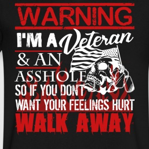 Veteran Shirts - Men's V-Neck T-Shirt by Canvas