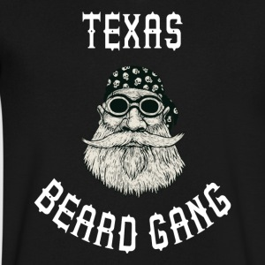 Texas Beard Gang - Men's V-Neck T-Shirt by Canvas