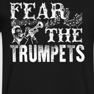 Fear The Trumpets Shirt - Men's V-Neck T-Shirt by Canvas
