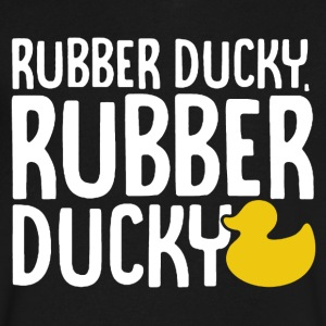 Rubber Ducky Shirt - Men's V-Neck T-Shirt by Canvas