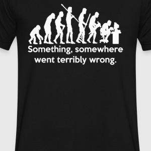 Somewhere Went Terribly - Men's V-Neck T-Shirt by Canvas