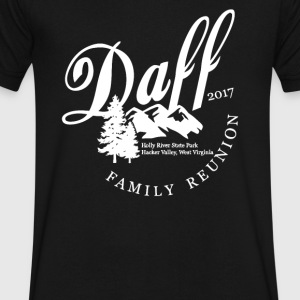 Daff Family Reunion - Men's V-Neck T-Shirt by Canvas