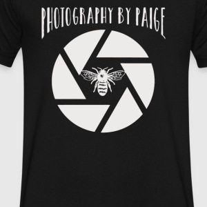 Photogrphy by paige - Men's V-Neck T-Shirt by Canvas