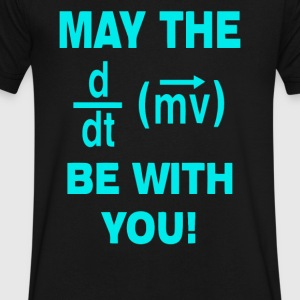 May the Force Be with you - Men's V-Neck T-Shirt by Canvas
