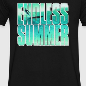 The Endless Summer Top Of The World - Men's V-Neck T-Shirt by Canvas