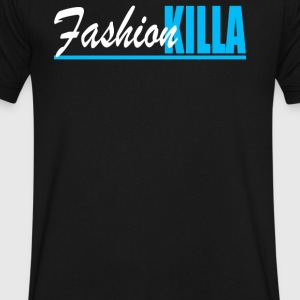 Fashion Killa - Men's V-Neck T-Shirt by Canvas