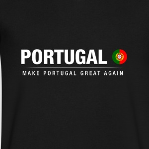 Make Portugal Great Again - Men's V-Neck T-Shirt by Canvas