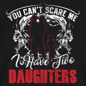 I have two daugherts! Children! Funny! - Men's V-Neck T-Shirt by Canvas