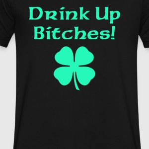 Drink Up Bitches - Men's V-Neck T-Shirt by Canvas