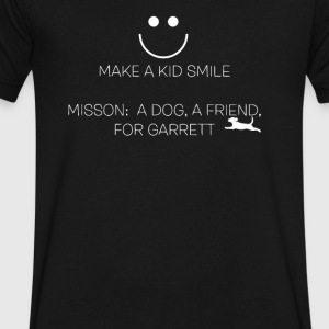 Autism Service Dog for Garretta - Men's V-Neck T-Shirt by Canvas