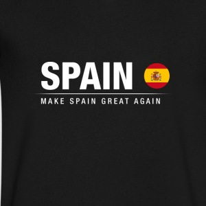 Make Spain Great Again - Men's V-Neck T-Shirt by Canvas