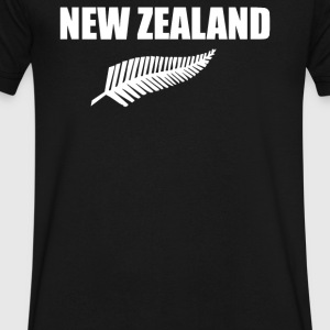New Zealand - Men's V-Neck T-Shirt by Canvas