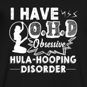 Obsessive Hula Hooping Disorder Shirt - Men's V-Neck T-Shirt by Canvas