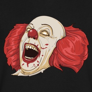 Evil Clown - Men's V-Neck T-Shirt by Canvas