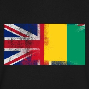 British Papua New Guinean Half Papua New Guinea Ha - Men's V-Neck T-Shirt by Canvas