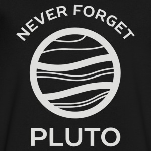 Never Forget Pluto The Planet - Men's V-Neck T-Shirt by Canvas