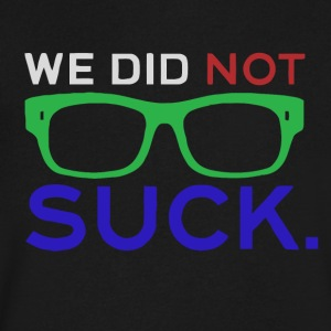 We_Did_No_Suck_2016 - Men's V-Neck T-Shirt by Canvas