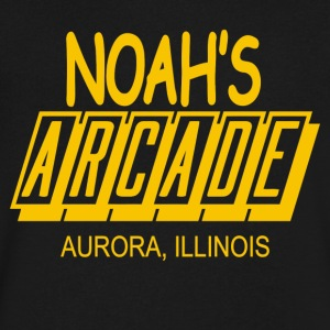 Noah s Arcade - Men's V-Neck T-Shirt by Canvas