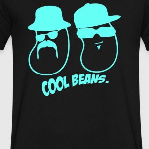 Cool Beans Gangsta - Men's V-Neck T-Shirt by Canvas