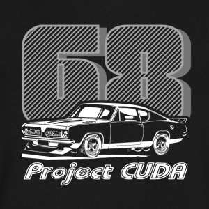 68 Project CUDA - Men's V-Neck T-Shirt by Canvas
