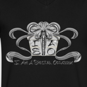 I AM A SPECIAL OCCASION! - Men's V-Neck T-Shirt by Canvas