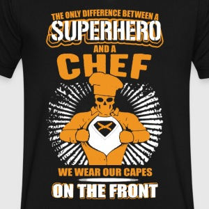 Chef T shirt - Men's V-Neck T-Shirt by Canvas