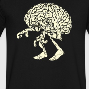 braindead - Men's V-Neck T-Shirt by Canvas