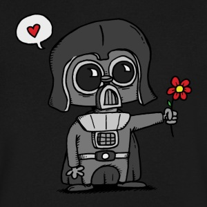 Li'l Vader - Men's V-Neck T-Shirt by Canvas