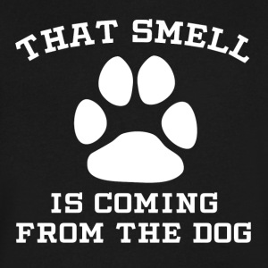 That Smell Is Coming From The Dog - Men's V-Neck T-Shirt by Canvas