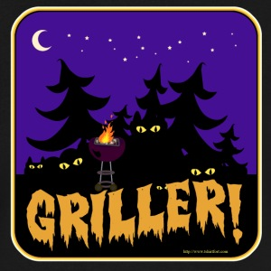 Beware the Griller! - Men's V-Neck T-Shirt by Canvas