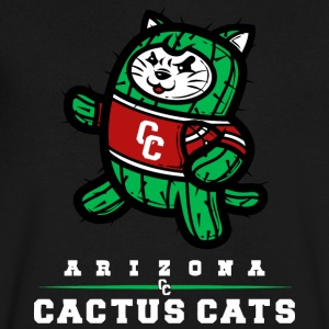 Arizona Cactus Cats - Men's V-Neck T-Shirt by Canvas
