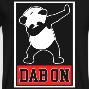 Panda Dab On Dance Funny - Men's V-Neck T-Shirt by Canvas