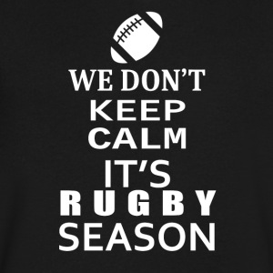 Rugby-We Don't keep calm- Shirt, Hoodie Gift - Men's V-Neck T-Shirt by Canvas