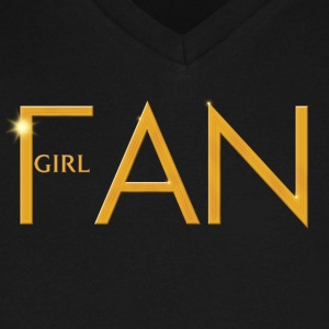 Once Upon A Time - Fangirl - Men's V-Neck T-Shirt by Canvas