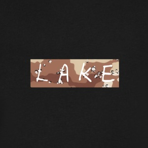 LAKE_LOGO2 - Men's V-Neck T-Shirt by Canvas