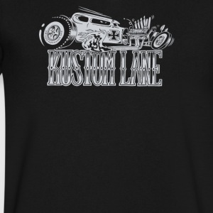 Kustom lane - Men's V-Neck T-Shirt by Canvas