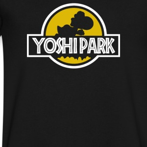 Yoshi Park - Men's V-Neck T-Shirt by Canvas