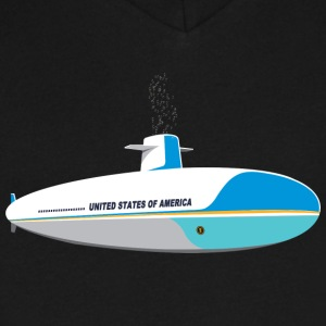 Submarine One - Men's V-Neck T-Shirt by Canvas