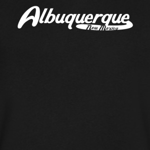 Albuquerque New Mexico Vintage Logo - Men's V-Neck T-Shirt by Canvas