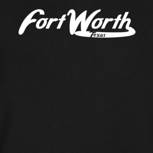 Fort Worth Texas Vintage Logo - Men's V-Neck T-Shirt by Canvas