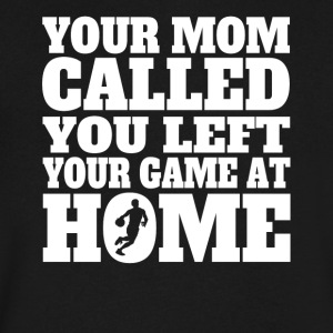 You Left Your Game At Home Funny Basketball - Men's V-Neck T-Shirt by Canvas