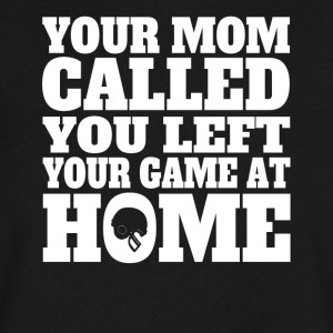 You Left Your Game At Home Funny Football - Men's V-Neck T-Shirt by Canvas
