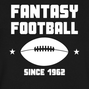 Fantasy Football Since 1962 Fantasy Football - Men's V-Neck T-Shirt by Canvas