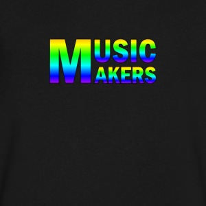 Colorful Music Makers - Men's V-Neck T-Shirt by Canvas