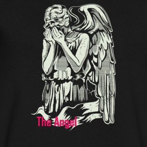 The Angel Weeping - Men's V-Neck T-Shirt by Canvas