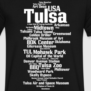 Tulsa - Men's V-Neck T-Shirt by Canvas
