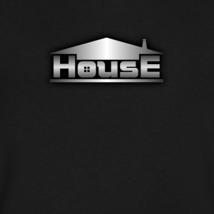 Metal house - Men's V-Neck T-Shirt by Canvas