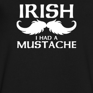 Irish Mustache - Men's V-Neck T-Shirt by Canvas